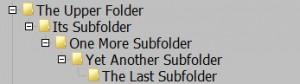 Subfolders in Total Commander