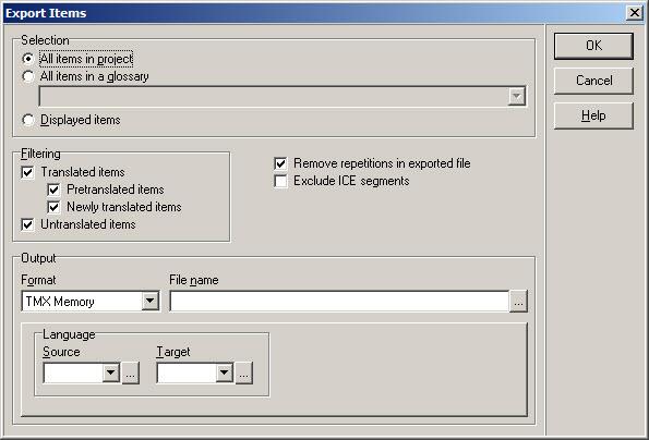 How to Convert Wordfast Offline TM to TMX Format