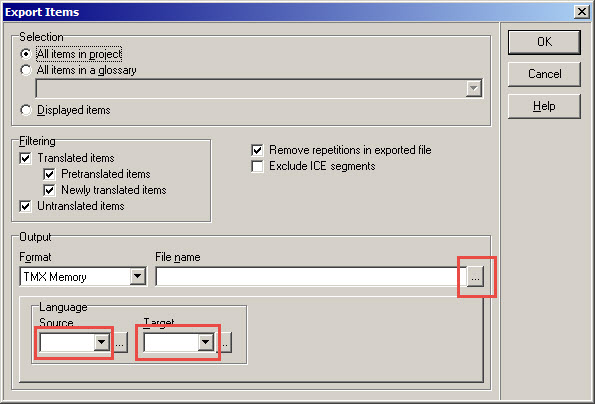 xbench_export_items_dialog_box