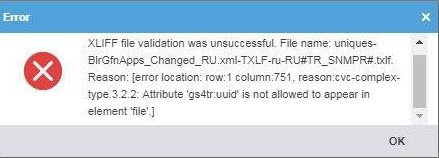 Attribute error in WordFast 5.6