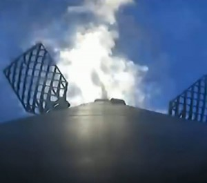 SpaceX CRS-19 Mission - Entry Burn