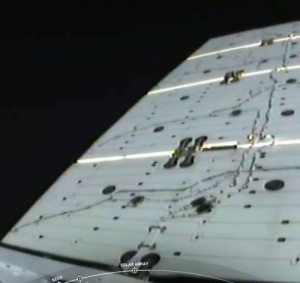 SpaceX CRS-19 Mission - Solar Array