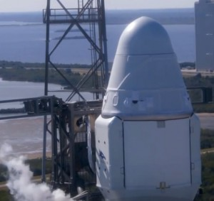 SpaceX CRS-19 Mission - Strongback Retract